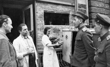 Sovietų kariai Vokietijos VDR