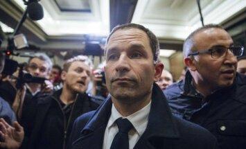 Prancūzijos socialistų kandidatas prezidento rinkimuose Benoit Hamonas