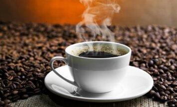 Kiek kavos išgerti sveika?