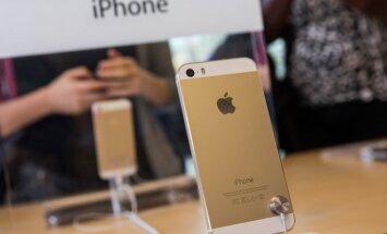Aukso spalvos iPhone 5S