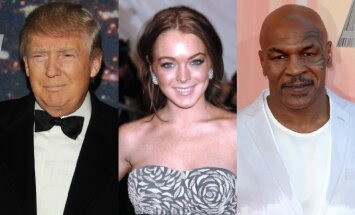 Donaldas Trumpas, Lindsay Lohan, Mike'as Tysonas