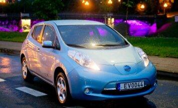 Elektromobilis Nissan Leaf