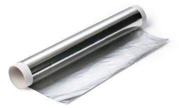Nepatikėsite, kokia naudinga gali būti aliuminio folija