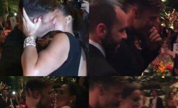 Gerbėja paklojo 90 tūkst. dolerių, kad galėtų pabučiuoti R. Martiną