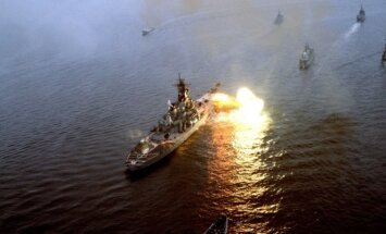 Pratybos BALTOPS 1985, JAV karo laivas USS Iowa
