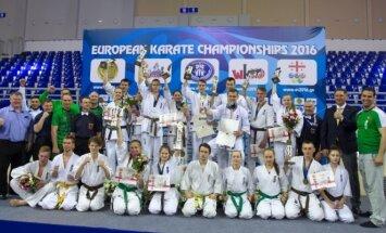 Lietuvos jaunių derlius kumitė rungtyje – 13 medalių