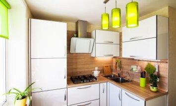 10 patarimų, kaip mažą virtuvę paversti patogia