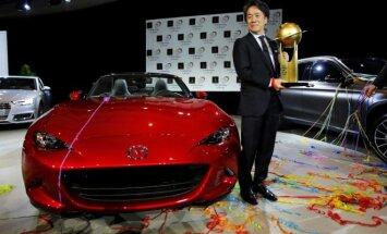 Mazda MX-5 tapo Metų pasaulio automobiliu