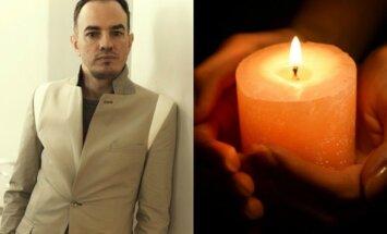 Mirė garsus dizaineris Egidijus Sidaras