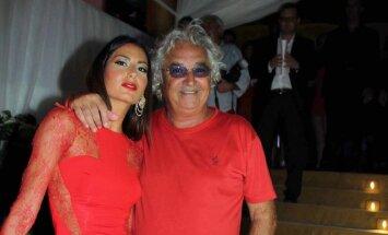 Flavio Briatore su žmona Elisabetta Gregoraci