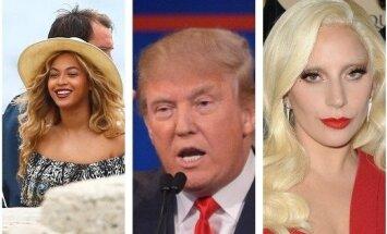 Beyonce, D. Trumpas, Lady Gaga