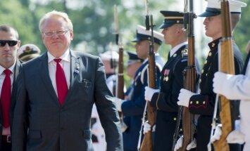 Švedijos gynybos ministras Peteris Hultqvistas