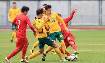 Futbolas: Lietuva U17 – Turkija U17