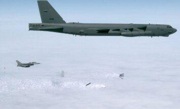 lankstinukų bombos, JAV oro pajėgų nuotr.