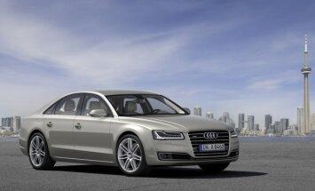 Dabartinis Audi A8 šiemet užleis vietą naujam modeliui