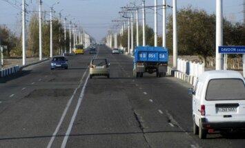 Kelias iš Urgenčo į Chivą