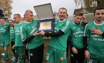 Kazlų Rūdos futbolininkai