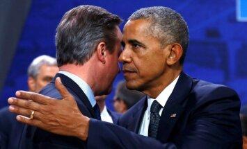 Davidas Cameronas, Barackas Obama