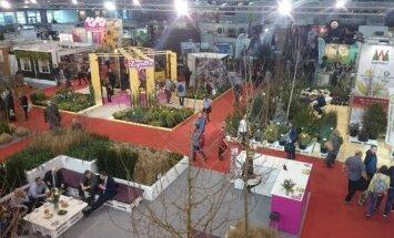 Parodos Gardenia2017 vienoje iš ekspozicijų salių.