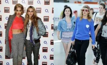 Rita Ora, Cara Delevingne, Ellie Goulding