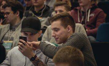Hakatonas Hacker Games: Kaunas, M. Kvietkutės nuotr.