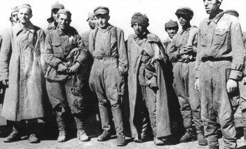 Sovietų karo belaisviai Minske. 1941 m. liepa
