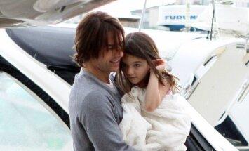 Tom Cruise su dukrele Suri