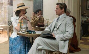 Marion Cotillard ir Bradas Pittas