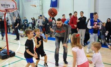 Deividas Gailius ir darželinukų krepšinio čempionatas