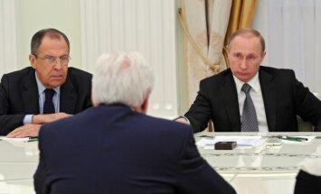 Sergejus Lavrovas, Frankas-Walteris Steinmeieris, Vladimiras Putinas