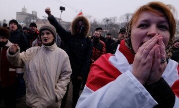 Protestai Baltarusijoje