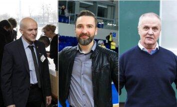 Stasys Stankus, Edvinas Eimontas, Julius Kvedaras
