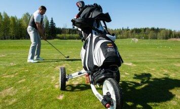 Virgilijus Alekna Europos centro golfo klube