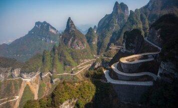 Tianmenio kalnai, Kinija