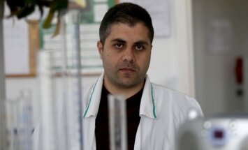 Mohammad Almogdad (Algimanto Barzdžiaus nuotr.)