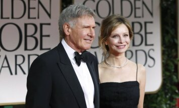 Harrisonas Fordas su žmona Calista Flockhart