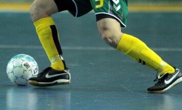Salės futbolas: Lietuva - Anglija
