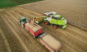 Harvest time in Lithuania