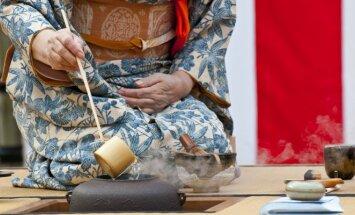 Japonų arbatos kultūra