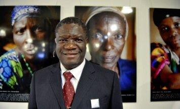 Kongo Demokratinės Respublikos ginekologas Denisas Mukwege