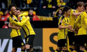 Bundesliga, Dortmundo Borussia – Frankfurto Eintracht rungtynių akimirka