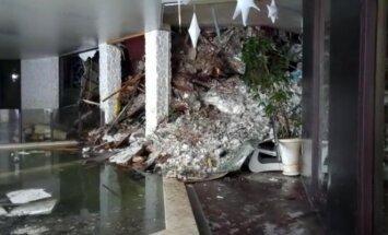 Paskelbti pirmieji filmuoti kadrai iš sniego lavinos palaidoto Italijos viešbučio