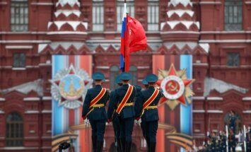 Russia celebrates the May 9
