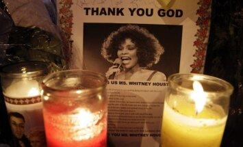 Gerbėjų atsisveikinimas su Whitney Houston