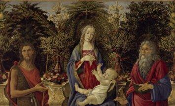 Sandro Botticelli, Bardi bažnyčios altorius, 1484. Staatliche Museen zu Berlin, Gemäldegalerie / Jörg P. Anders