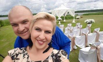 Laima Tamulytė-Stončė su vyru Gediminu Stončiumi