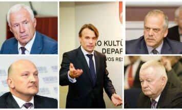 Algis Vasiliauskas, Romualdas Bakutis, Edis Urbanavičius, Rimantas Kveselaitis, Albinas Grabnickas
