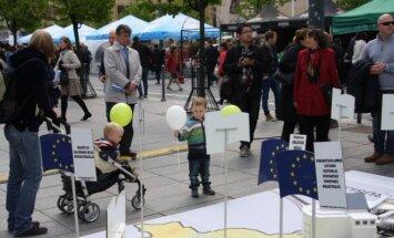 Susisiekimo ministerija Europos dieną pristatė ES projektus