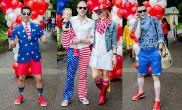 JAV nepriklausomybės dienos minėjimo svečiai