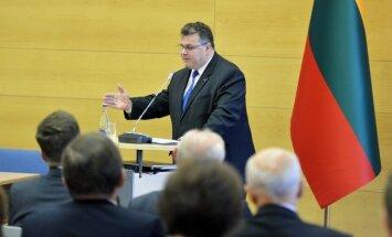 Linas Linkevičius Lietuvos ambasadorių suvažiavime